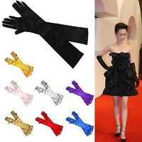 Ladies Evening Prom Wedding Flapper 20s Fancy Dress Xmas Opera Burlesque Gloves
