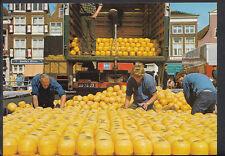 Netherlands Postcard - The Cheese Market, Alkmaar    B2759A