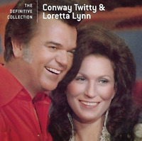 Conway Twitty & Loretta Lynn - The Definitive Collection (CD) • NEW • Best of