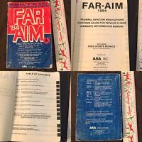 Vintage FAR/AIM 1984 : Federal Aviation Regulations/Aeronautical Information ASA
