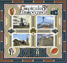 France Architecture Stamps 2020 MNH Dublin European Capitals Tourism 4v M/S