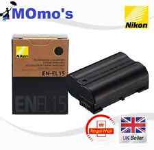 Nikon EN-EL15 Camera batteries for D7000 D800 D800 D600 MB-D11 D12 1900mAh