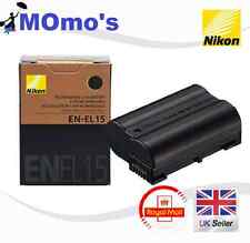 Nikon EN-EL15 Camera batteries for D7000 D800 D800E D600 MB-D11 D12 1900mAh