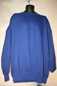 """NEW 4XL Sweatshirts Lovely Quality in Royal Blue 58""""-62"""" FREE CARRIAGE"""