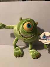 Monsters, Inc 2001 Mike Wazowski Plush Toy Disney Pixar Disney Stuffed Monster
