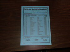 JANUARY 1951 N&W NORFOLK AND WESTERN PERCENTAGE DIVISIONS TARIFF