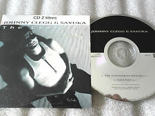 CD-JOHNNY CLEGG-SAVUKA-THE CROSSING-O SIYEZA-LOST GIRL-(CD SINGLE)-1993 2TRACK