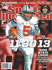 11/30/13 BRAXTON MILLER OHIO STATE BUCKEYES SPORTS ILLUSTRATED 2013 SI NO LABEL