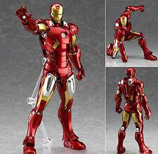 MAX Factory Figma 217 Marvel Avengers: Iron Man MK Mark 7 VII Figure Genuine