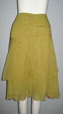 Solola Size 38 (F) 6 (US) 42 (IT) 10 (UK) Green Multi-Layered Women's Skirt