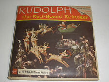 View Master Rudolph The red-nosed Reindeer Stereo Picture set