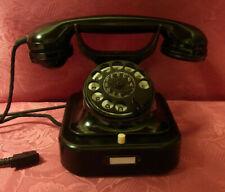 W28 Telefon Bakelit Groos und Graf Fernsprecher Telephone  W28 Original 11.1939