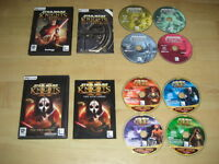 STAR WARS - KNIGHTS OF THE OLD REPUBLIC 1&2 Pc Cd Rom KOTOR 1 & 2 Sith FAST POST