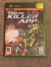 Tron 2.0 Killer App Microsoft Original Xbox 12+ Game Buena Vista Interactive PAL