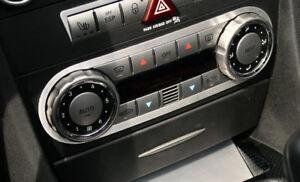 Alu Frame for Air Condition Control Panel Mercedes Benz SLK R171 Interior Trim