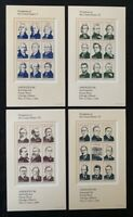 US Scott #2216-19 Ameripex 1986 Souvenir Sheets in USPS Packaging Mint NH CV $30