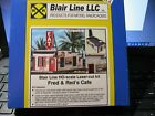 Blair Line HO  Laser Cut Fred & Red's Cafe  Kit #190    Bob The Train Guy