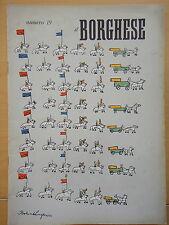 1954-IL BORGHESE-Direttore LEO LONGANESI-Anno V, Numero 19