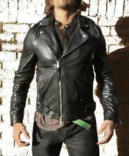 *NEW WITH TAGS* ALL SAINTS CLINT BIKER LEATHER JACKET M RRP £380 $650