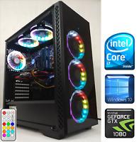 Gaming PC Desktop Intel Core i7 3.9GHz/GTX 1080 8GB/SSD/16GB RAM/1TB HDD/RGB