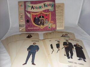 1965 Addams Family Card Game  Complete USA Milton Bradley No 4536 Vintage