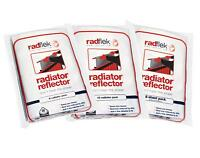 Radflek Radiator Reflector Panels, Reflecting Foil Sheets, Reduces Heat Loss