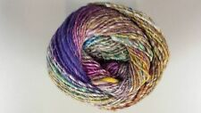 Noro Kibou #14 - 100g 54% Cotton 34% Wool 12% Silk Yellow Purple Green & Tan