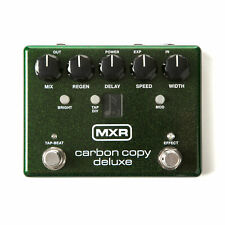 MXR M292 Carbon Copy Deluxe Analog Delay Guitar Pedal w/Tap Tempo  New!