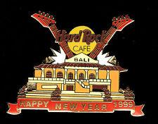 Bali HRC 1999 Happy New Year Two Guitars Pin