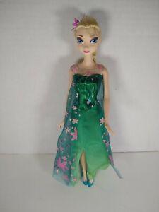 Disney Frozen Fever Birthday Elsa Doll Clothes Shoes
