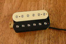 VINTAGE OUTPUT BRIDGE HUMBUCKER PICKUP ZEBRA ALNICO 2 MAGNET FOUR CONDUCTOR WIRE