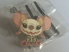 Disney Angel Pin Wearing a Skeleton Suit - Halloween 2014 Lilo & Stitch HTF