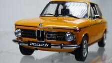 AUTOart Millenium '74 BMW 2002 Ti Turbo 1/18 Colorado Orange Collectible Toy Car