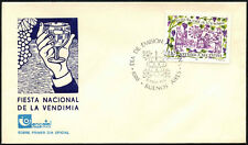Argentina 1986 Grape Harvest Festival FDC First Day Cover #C43409