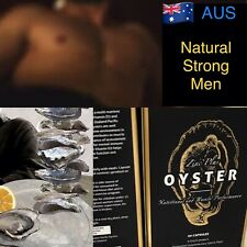 Real Power Oyster Extract +Zinc 60 Capsules Strong Men Australia