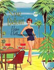 Vintage 1960 Star Bright Paper Doll ~Saalfield~Pretty Laser Repro~Orig Sze Uncut