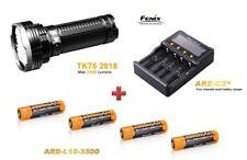 Fenix TK75 Mod. 2018 + Fenix ARE-C2+ Ladegerät + 4 Fenix ARB-L18 3500mAh Akkus
