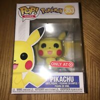 100% Authentic Funko POP! Pokemon PIKACHU #353 Target Exclusive ••MINT••