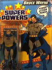 Super Powers Carded Custom Mint Custom Bruce Wayne Batman MOC & comic card
