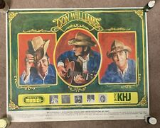 Don Williams 17.5X22 Poster 1981 Country Music Legend 93 Khj radio Mca Records