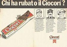 X0717 Chi ha rubato il Ciocorì - Motta - Pubblicità del 1976 - Advertising