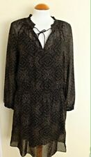 BNWT 100% Auth Ralph Lauren, Ladies Hamlai Brown Dress. 10 RRP £290.00