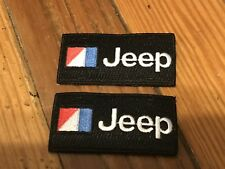 JEEP CHEROKEE WAGONEER WRANGLER CJ5 CJ7 AMC JEEP BLACK JACKET SHIRT HAT PATCHES