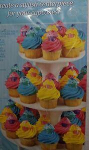 3 Tier Cupcake Tree Stand Holder Tower Wedding Birthday Party Dessert Display