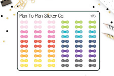 1173~~Contact Lens Planner Stickers.
