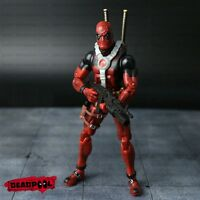 "Rare Marvel Legends Wave X-men Deadpool 7"" Action Figure Marvel Universe kit New"