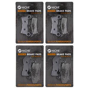 Brake Pad Set for Harley-Davidson Tri Glide Ultra Classic Street Semi-Metallic
