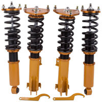 Coilover Lowering Kit for Mitsubishi Galant 99-03 Adj. Height Coil Springs Strut