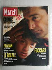 N1240 Magazine Paris-Match N°1956 21 nov 1986 le Rafale, spécial, Foccart