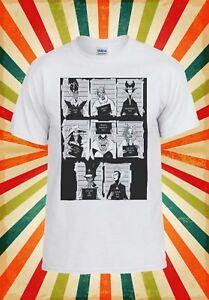 Disney Villains Mugshot Funny Cool Men Women Vest Tank Top Unisex T Shirt 1995